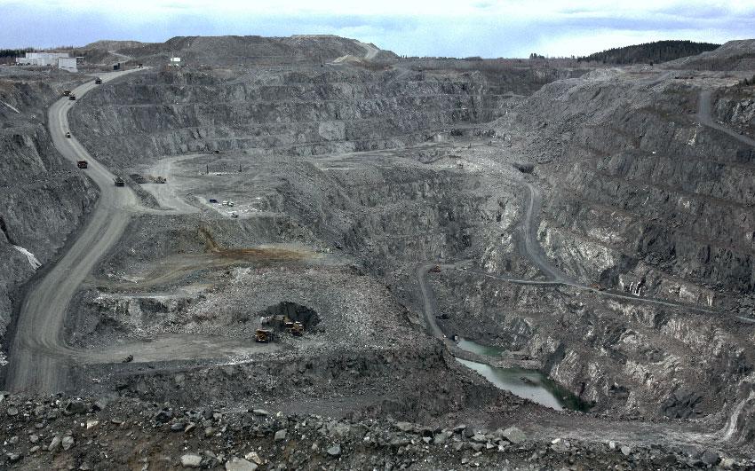 Апатитовый рудник в Сиилинъярви, Финляндия