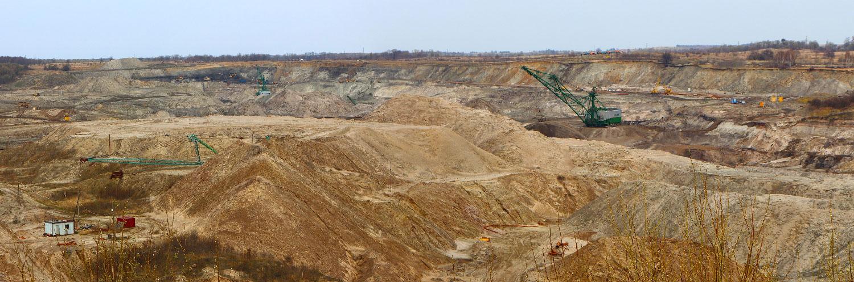Янтарная шахта в Янтарном, Калининградской области, Россия