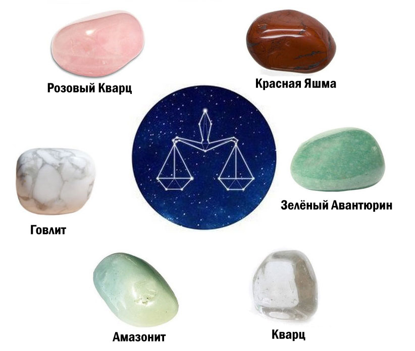 Камни подходящие весам