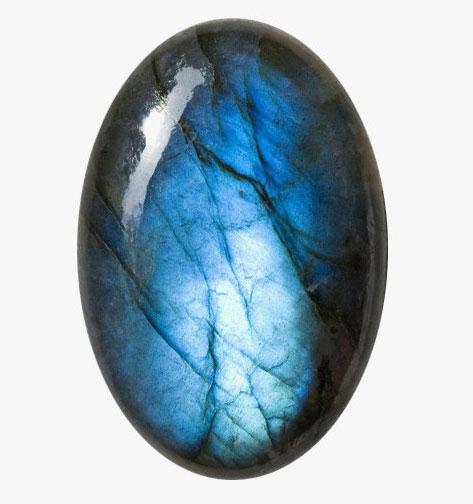 Черный лунный камень