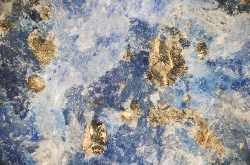 Микроскоп из лазурита x240