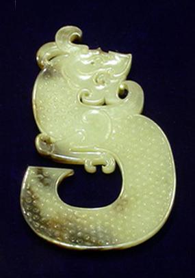 Нефритовый дракон, династия Западная Хань (202 г. до н.э. - 9 г. н.э.)