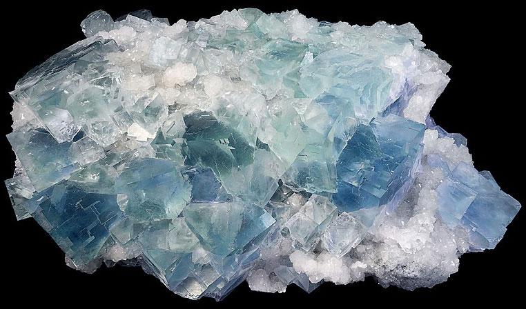 Голубой Флюорит