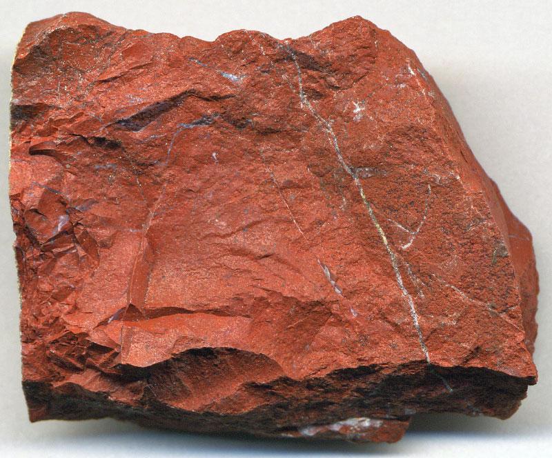 Красная яшма грубая, Кейв-Крик, Аризона